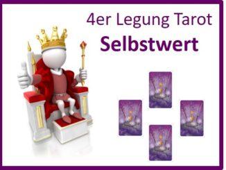 4er Legung Tarot Selbstwert