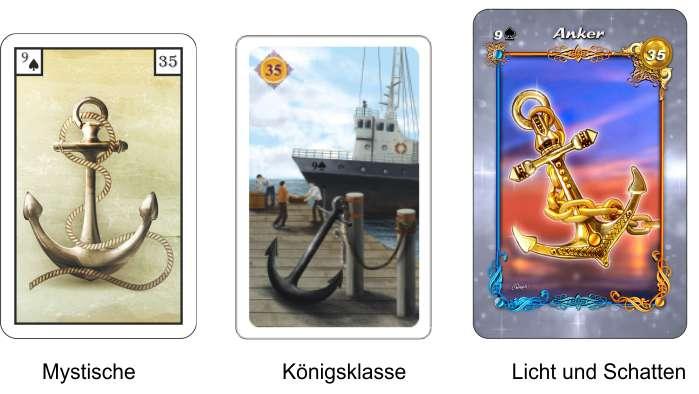 Lenormand online - Kartendecks