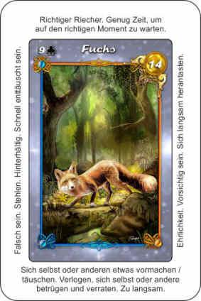 Lenormandkarte Fuchs