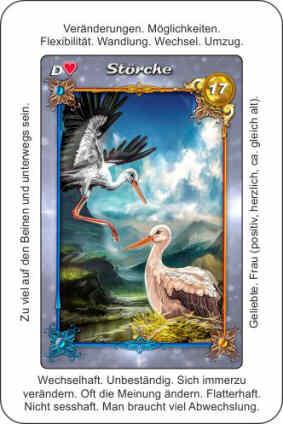 Lenormandkarte Stoerche