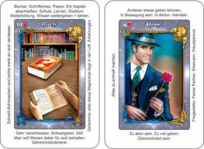 Lenormandkarten Buch und Herr