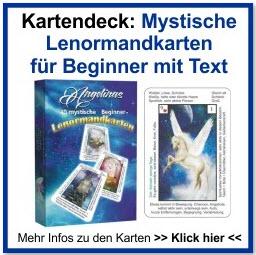 Lenormandkarten mystisch Beginner