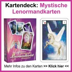 Mystische Lenormandkarten Deck