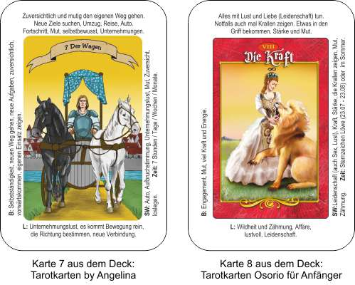 Tarot Online - 2 Tarotdecks