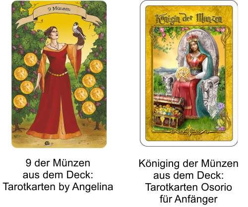 Tarot Online mit Tarotkarten