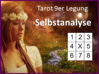 9er Legung Selbstanalyse - Tarot