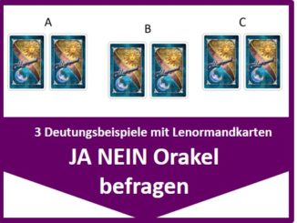 lenormand 3er legung mal anders inkl video mit. Black Bedroom Furniture Sets. Home Design Ideas
